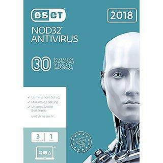 Eset Nod32 Antivirus 3 Users 1 Year