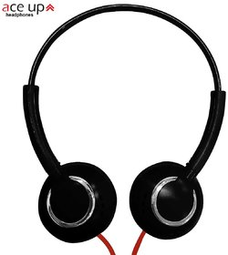 Acp Up H1 Classic Wired Over the Ear Headphones