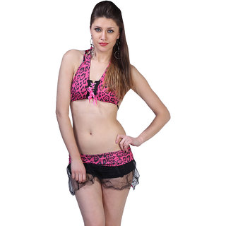 Flirty Animal Print Bikini Set