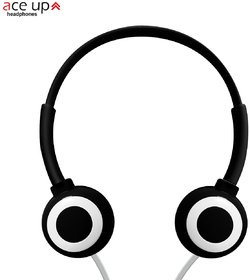 Ace Up H4 Premium Over the Ear Wired Stylish Headphones