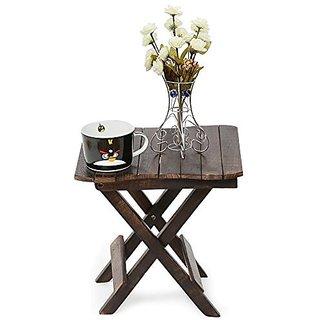 Shilpi Tal-20 Solid Wood Side Table(Finish Color - Matte Finish)