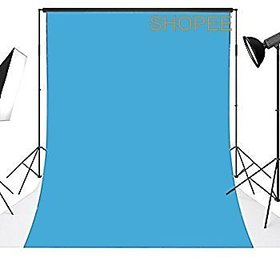 8x12 Feet Backdrop Photography Background (Sky Blue)