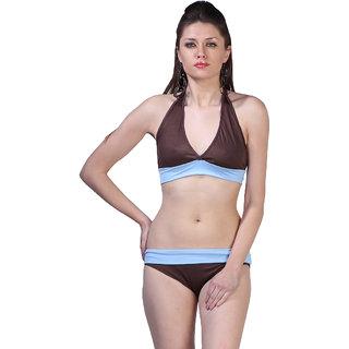 Ooh La La Sexy 2 Colored Haltered Bikini Set