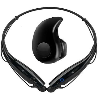 Kss HBS-730 Bluetooth Headset and Bluetooth Earbuds Combo -Multicolor