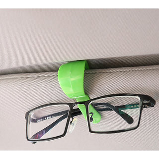 Futaba Car-Styling glasses Visor Card Holder - Red and Green (Pack of two)