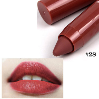 Miss Rose Chubby Soft Cream  Matte Long Lasting Lipstick / Lip Crayon