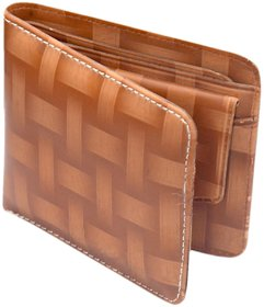 K Decor Brown PU Stylish Wallet For Mens (SW-001)