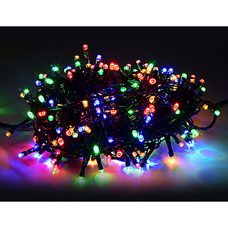 Emm Emm Pack of 2 Approx16 Feet RGB Multicolor Auto Twinkling Light Led Ladi/String For Diwali/Birthday/Eid Decoration