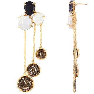TARUSA Brass Fashionable Dangle Earring  For Women