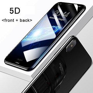 I PHONE X BLACK 5D HIGH QUALITY TEMPERED GLASS
