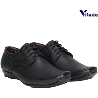 Vitoria Black Formal Shoes For Men