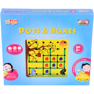 DIY Dots Boxes Strategy Board Game