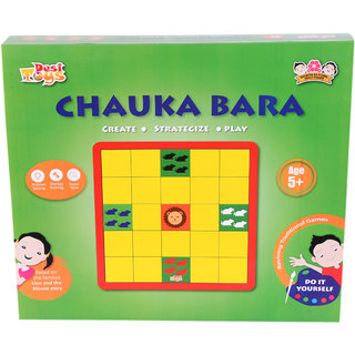 DIY Chuaka Bara with Lion and the Mouse Story theme