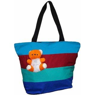 5e93623d0e2d Atorakushon Multipurpose Carrying Case Women s Elegance Ethnic Cotton with small  teddy Style Handbag .