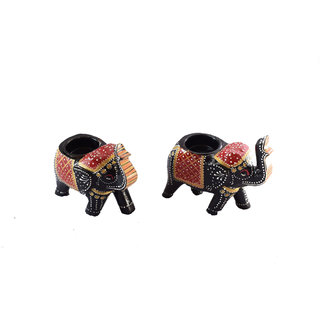 Click to open expanded view Handmadeo artize Tea light painted elephant decorative for table dinning restaurant gift (