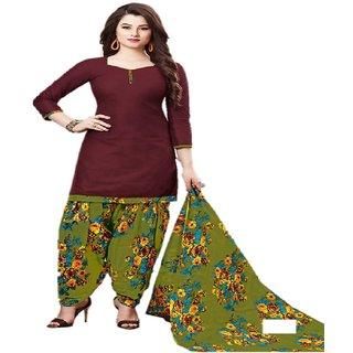 Women Dress Material Patiyala Special 100 Cotton UN Stitched (3008)