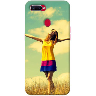 FurnishFantasy Mobile Back cover for Oppo F9 (Product ID - 0751)