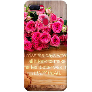 FurnishFantasy Mobile Back cover for Oppo F9 (Product ID - 0790)