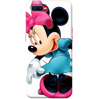 FurnishFantasy Mobile Back cover for Oppo F9 (Product ID - 0826)
