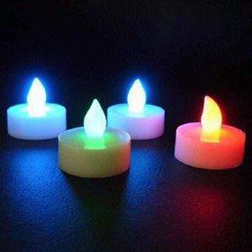LOF Led Light Diya Electronic Diya Battery Powered Multi color Flame less Smokeless Diwali Gift Home Decoration