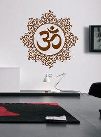 Ghar Kraft Designer Om Wall Sticker