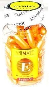 60 capsules ANIMATE VITAMIN E FACIAL CAPSULE