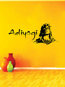 Ghar Kraft Adiyogi Wall Sticker