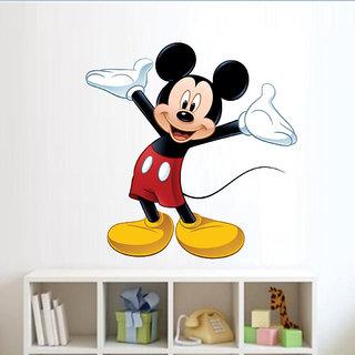 Ghar Kraft cute mickey mouse Wall Sticker