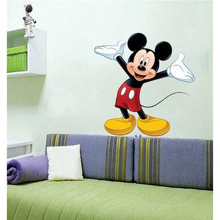 . Ghar Kraft cute mickey mouse Wall Sticker