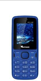 Mymax M41 , Dual Sim , 1.8 inc Feature phone ,  Open FM with Talking Keypad , 1000mAh Battery , Royal Blue Colour