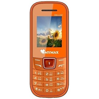 Mymax A12 , Dual Sim , 1.8 inc Feature phone ,  Open FM with Talking Keypad , 1000mAh Batter