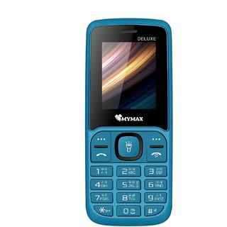 Mymax M43 Dual Sim  18 inc Feature phone   Open FM with Talking Keypad  1000mAh Battery