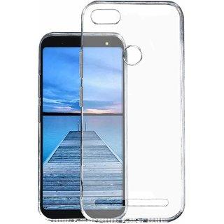 Micromax Yu-Ace Cover Soft Transparent Bk