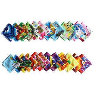 Concepts Face Towels Pack of 24 (Assorted)