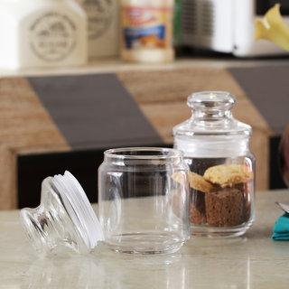 Ocean Pop jar with glass lid 500 ml - Set of 6