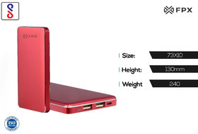 FPX 10000 mAh Royale Power Bank Pink