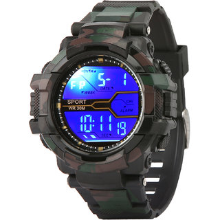 98c5106715c Buy Addic Army Black Attractive Digital sports Watch For Men s   Boys.  Online - Get 75% Off