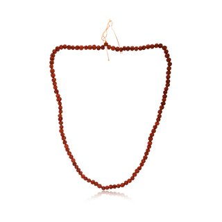 Natural Rudraksh mala with certificate with size of 5 mm