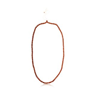 Natural Rudraksh mala with certificate with size of 7 mm