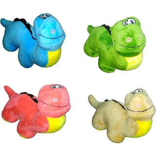 Dinosaur Plush Very Soft Toy - 12 inch (Pack of 4 pc)