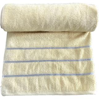 Krish 100 Cotton Bath Towel 670 GSM Mustard Yellow