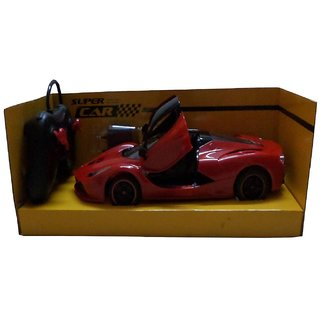Shribossji Remote Control Super Car Toy With Opening Doors For Kids (Multicolor) best