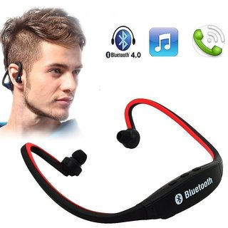 Wireless Bluetooth Headphone BS19 In the Ear Sports Headphones (Multi-Color)