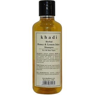 Khadi Herbal Honey Lemon Juice Shampoo - 210ml