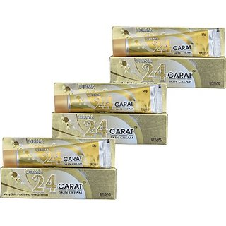 Derma Anti-acne & Pimples/blemishes 24 Carat Skin Cream Pack of 3