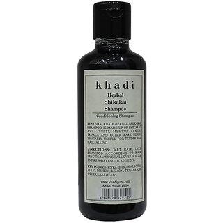 Khadi Herbal Shikakai Shampoo - 210ml