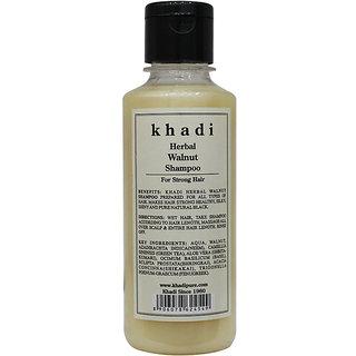 Khadi Herbal Walnut Shampoo - 210ml