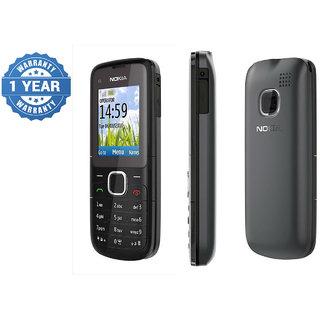 Refurbished Nokia C1-01 Black Mobile