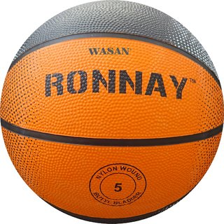 Wasan Ronnay Rubber Basketball Size 5 (12 Years and Above)