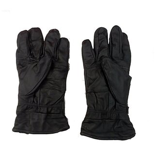 Leather Golves Soft Black For All